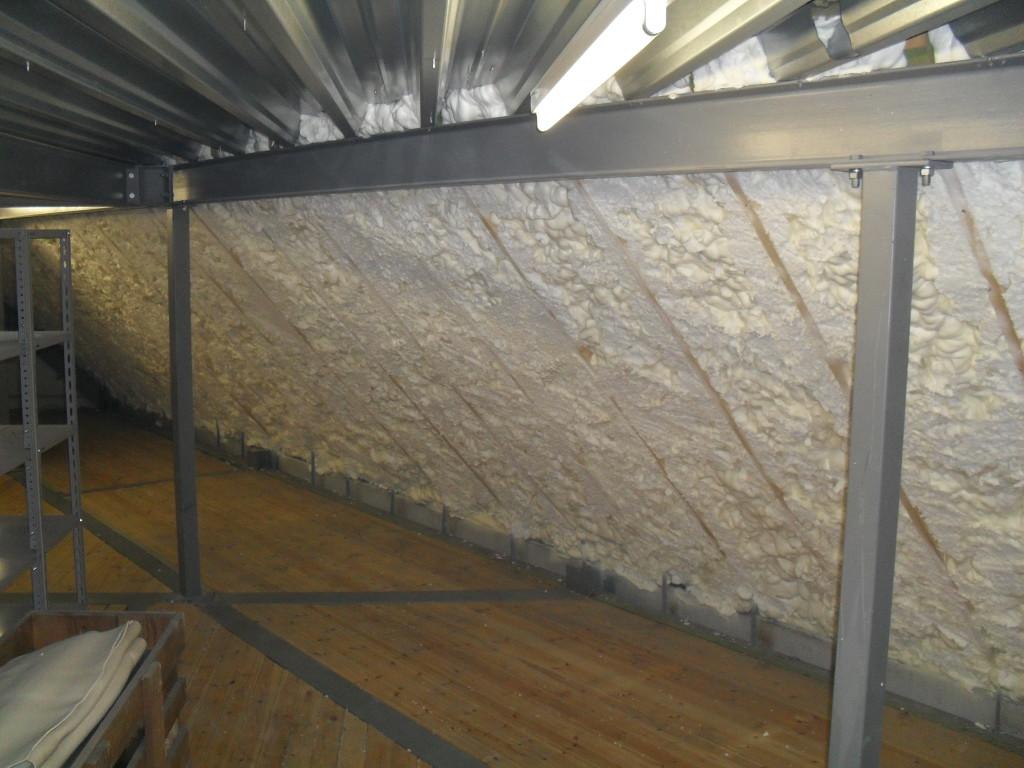 Delhez systemes isolation de structure m tallique par - Humidifier l air d une chambre ...