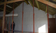 Isolation acoustique de murs ecopeg