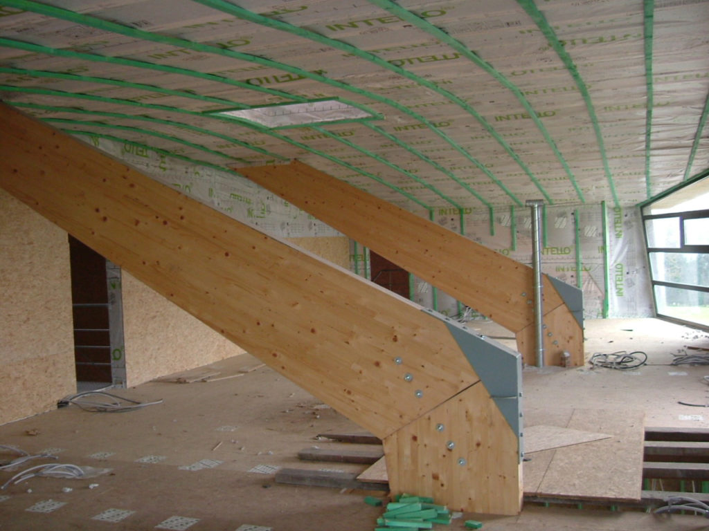 isolation des toitures en pente par delhez syst mes. Black Bedroom Furniture Sets. Home Design Ideas