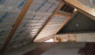 Isolation d'une toiture à versant