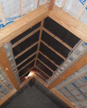 Isolation de toiture à versant et en pente
